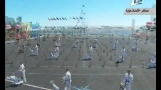 شاهد.. عروض بحرية بحفل تخريج دفعة 76 كلية البحرية
