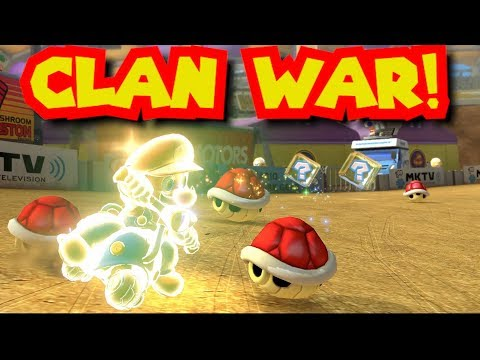 Mario Kart 8 Deluxe 200cc MKU Clan War - BzK vs. IMP 2