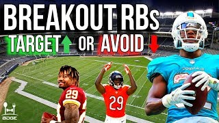 BREAKOUT Running Backs to Target and Avoid in 2019 Fantasy Football