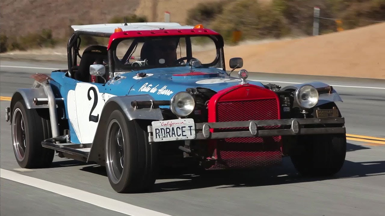 24 Hours Of Lemons >> Road Race-T: 1927 LeMons Racer - /BIG MUSCLE - YouTube