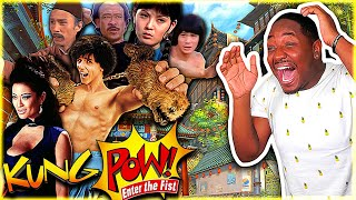 KUNG POW! ENTER THE FIST (2002) Movie Reaction *FIRST TIME WATCHING* | MOST RIDICULOUS MOVIE!
