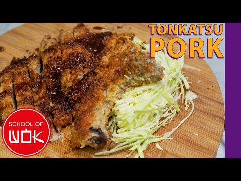 Crispy Japanese Tonkatsu Pork Recipe! | Wok Wednesdays