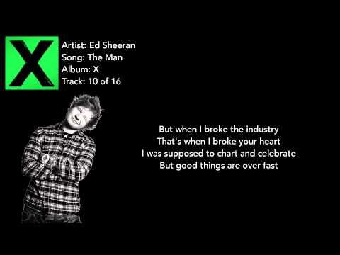 The Man - Ed Sheeran Lyrics