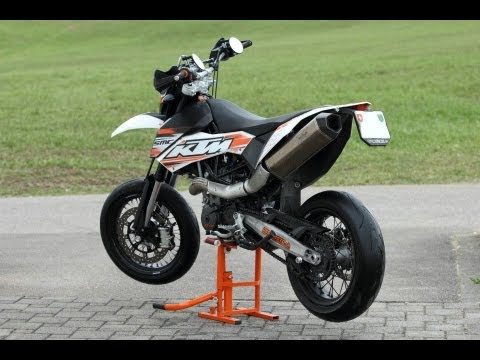 ktm 690 smc remus komplett mit und ohne db eater youtube. Black Bedroom Furniture Sets. Home Design Ideas