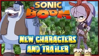Sonic Boom New Characters & Behind the Scenes TV Trailer