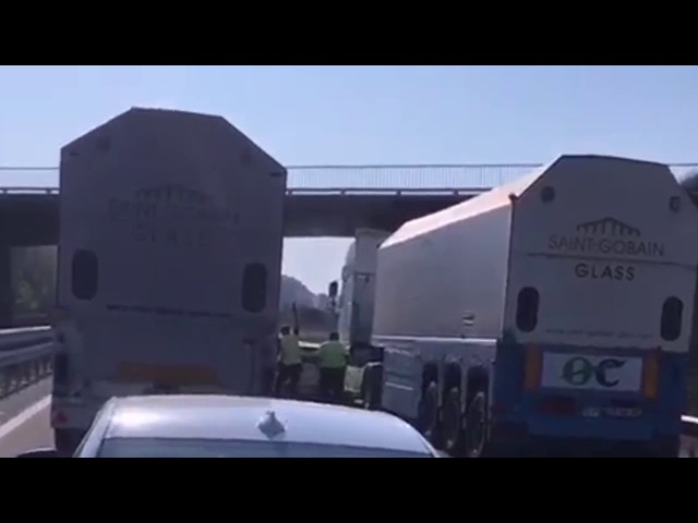 Una persecución termina con la Guardia Civil disparando al aire para realizar la detención