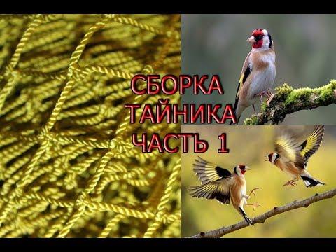 Тайник для ловли птиц своими руками видео
