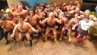 "The Future Presents 1980's LJN WWF Wrestling Superstars 8"" Action Figures Retro Showcase & Review"