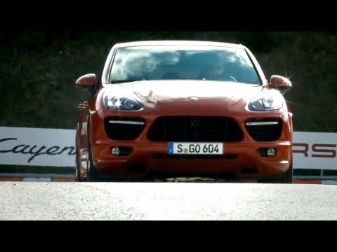 2013 Porsche Cayenne GTS on Track