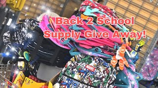 Back 2 School Supply Shopping 2019
