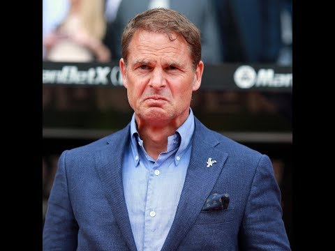 Crystal Palace were right to sack Frank de Boer after just 77 days.. he goes down as