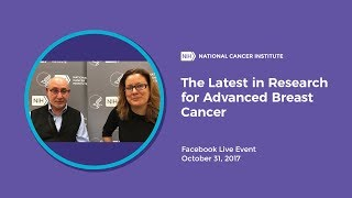 The Latest in Research for Advanced Breast Cancer, Facebook Live Event thumbnail