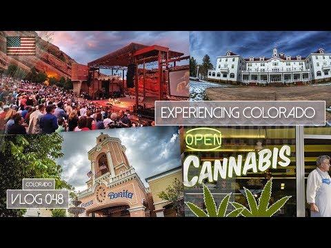 EXPERIENCING COLORADO - THE SHINING HOTEL, POT SHOPS, RED ROCKS ARENA & CASA BONITA-  VLOG 048