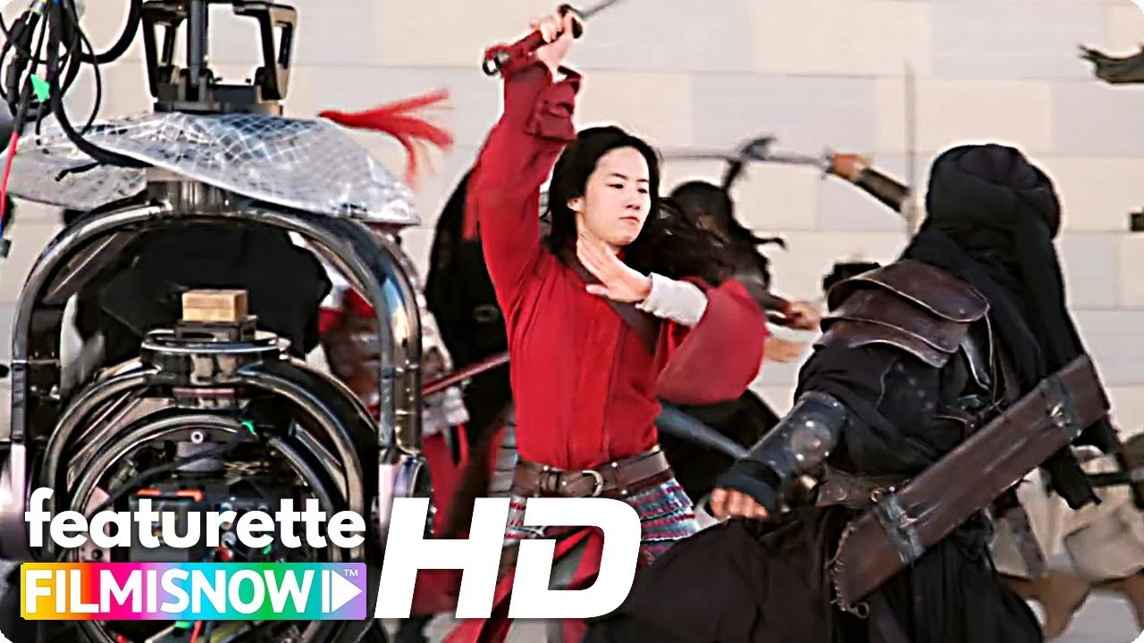 Mulan 2020 Behind The Scenes Stunt Action Disney Live Action Youtube