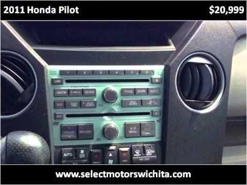 2011 honda pilot used cars wichita ks youtube. Black Bedroom Furniture Sets. Home Design Ideas