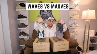 COMPARING YEEZY 700 WAVE RUNNERS TO MAUVES
