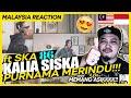 TERBAIK GENG !! 🤗😱 PURNAMA MERINDU - KALIA SISKA ft SKA 86..DANGDUT KOPLO  MALAYSIA REACTION