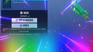 How the NEW Undo Feature Works in Fortnite