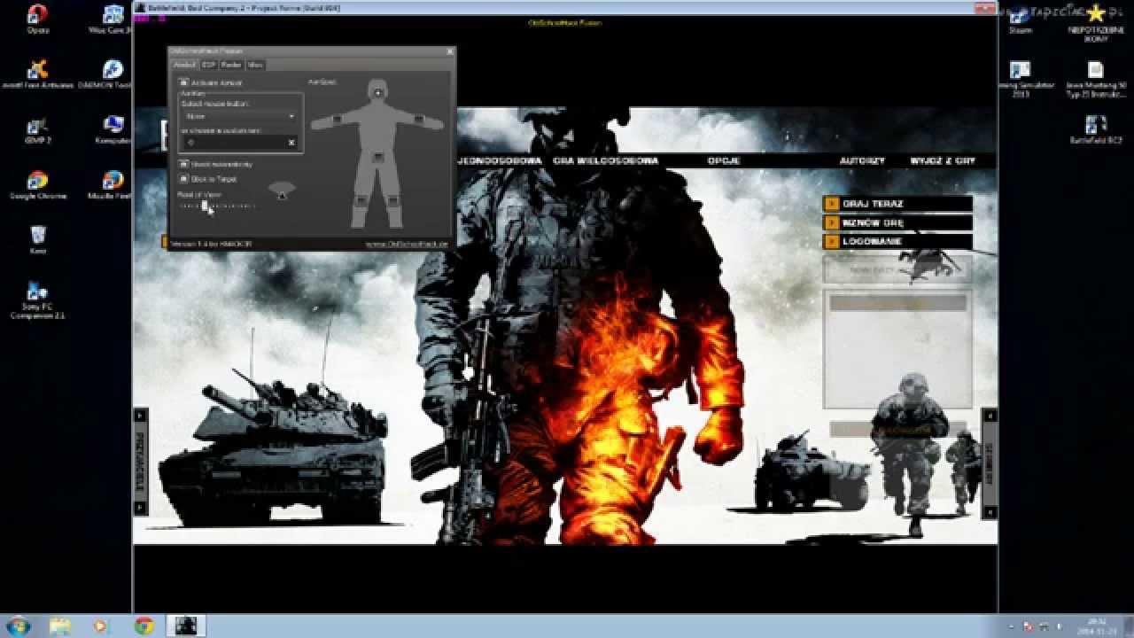 Battlefield bad company 2 aimbot