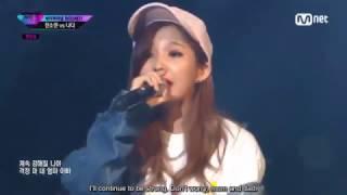 (ENG SUB) [Unpretty Rapstar 3 Ep. 9] Jeon Soyeon feat. DAVII - Smile (웃어) @Semi-Final Stage