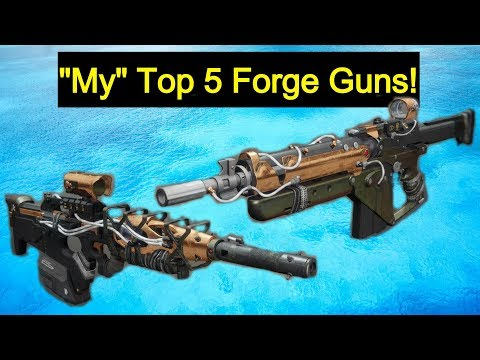 "Destiny 2 | ""My"" Top 5 Forge Weapons!"