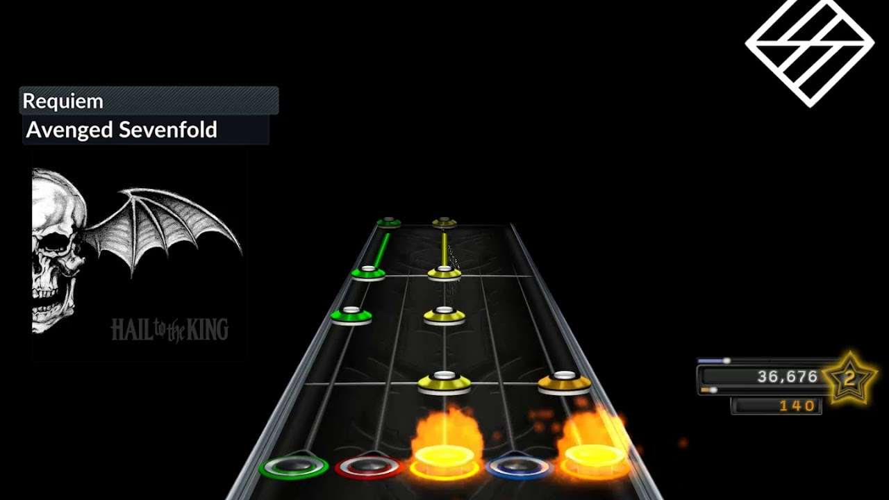 Hail to the King Album from Avenged Sevenfold for Clone Hero