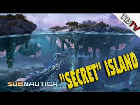 How To Find The  Hidden Island Subnautica - Multipurpose Roo