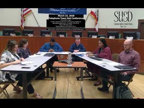 stockton-unified-telephone-town-hall-meeting---march-23,-2020