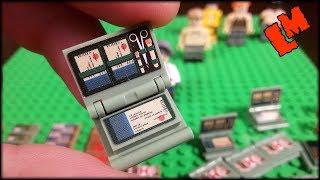 Лего аптечка и фигурки по игре PUBG