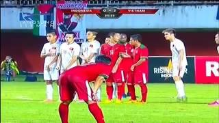 Highlight INDONESIA vs VIETNAM 9 OKTOBER 2016 2-2