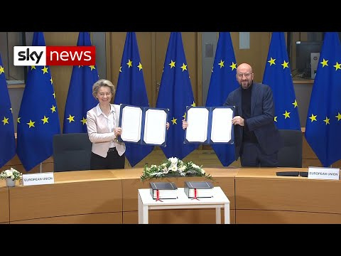 Brexit 2021: European Commission and European Council sign UK-EU trade agreement
