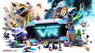 無料で配信されているPSVR紹介ソフト。史上初のVRパーティーゲームを謳...