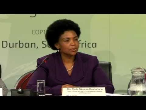 Press briefing on status of negotiations - Durban, 30 November 2011
