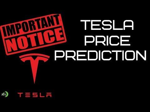 TESLA (TSLA) STOCK PRICE PREDICTION (IMPORTANT NOTICE)