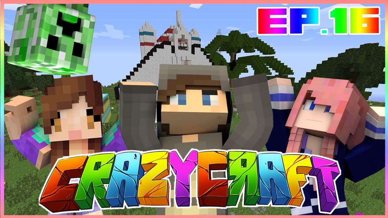 Pranking lauren pranked by lizzie minecraft crazy for Crazy craft 3 0 server