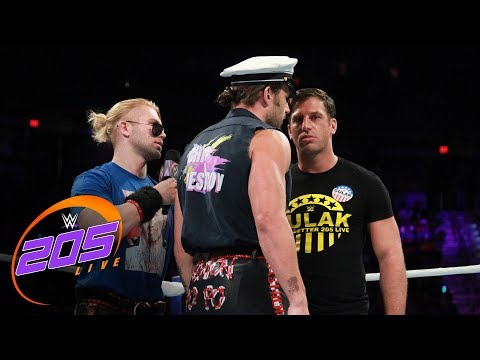 Breezango places Drew Gulak under arrest: WWE 205 Live, Sept. 12, 2017