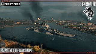 ⚓ ФРАНЦУЗСКИЙ КРЕЙСЕР BAYARD ⛴ WORK IN PROGRESS 🔧 World of Warships. Sketch TV