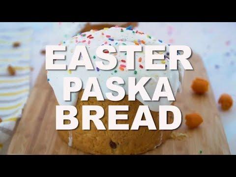 Easter Paska Bread Recipe