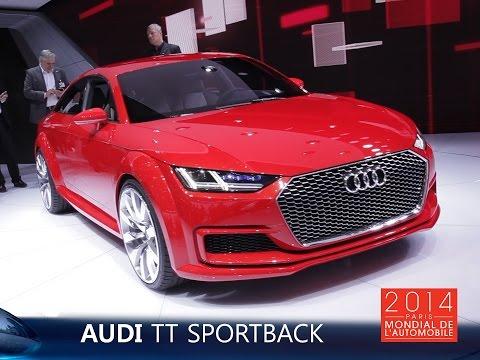 Live Auto Mondial 2014 : Audi TT Sportback