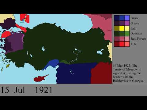 The Turkish Wars of Independence: Every Day