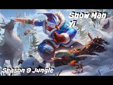 League of Legends: Snow Man Yi Jungle Gameplay