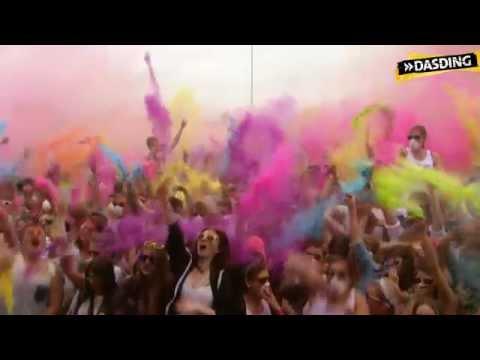 Partyalarm beim Holi Gaudy Festival in Böblingen bei Stuttgart | DASDING