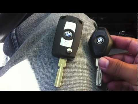 BMW e39 Folding Flip Key Case Shell Refit