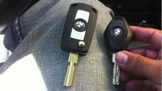 BMW e39 Folding Flip Key Case Shell Refit