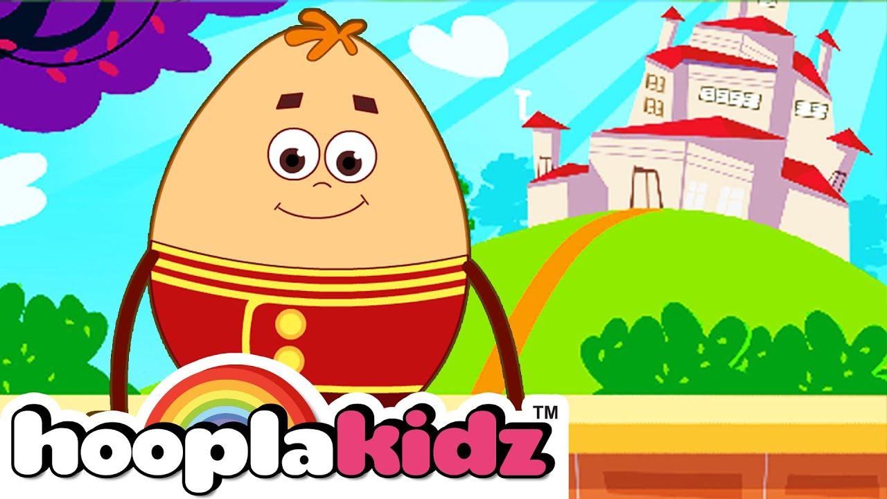 Humpty Dumpty | Popular Nursery Rhymes For Babies by Hooplakidz