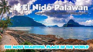 El Nido Palawan Cadlao Resort Marimegmeg Beach Day 1