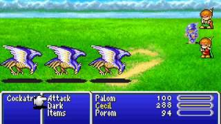 Game Boy Advance Longplay [108] Final Fantasy IV Advance (part 1 of 6)
