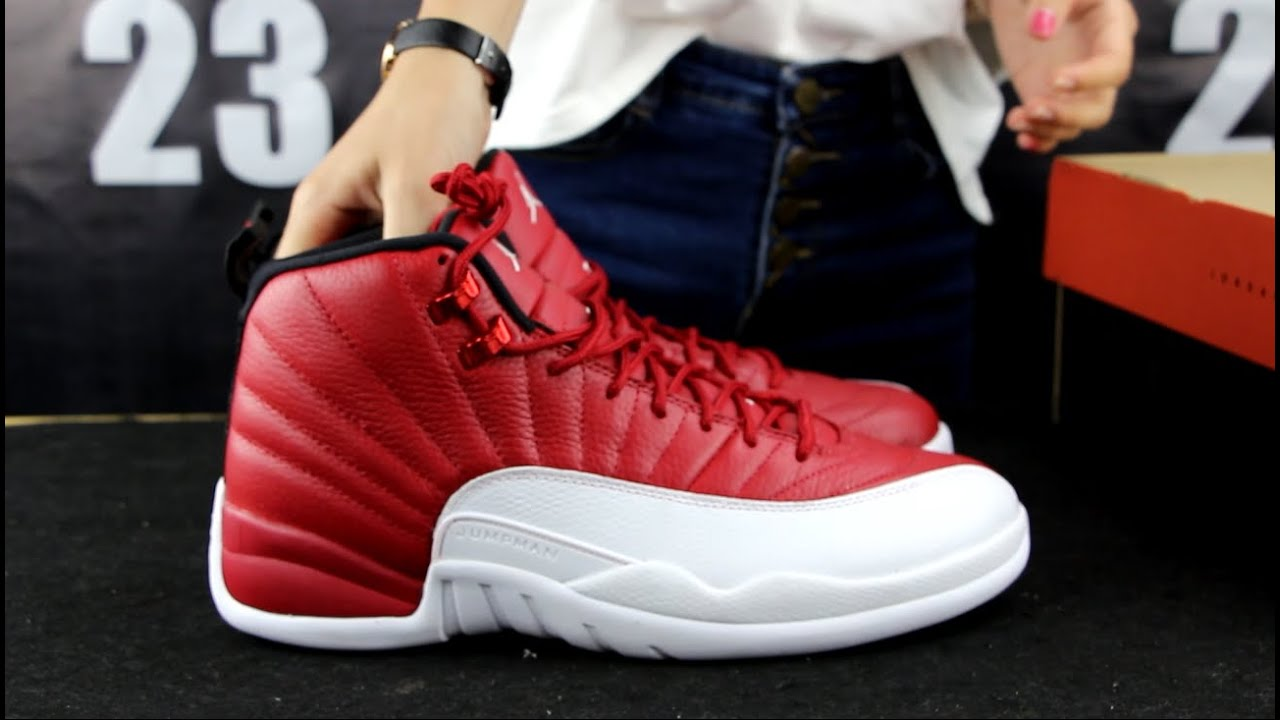 Air Jordan 12 Gym Red Review