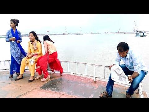 Mawa To Majhir Ghat Corssing by Launch II Amazing Padma River Crossing