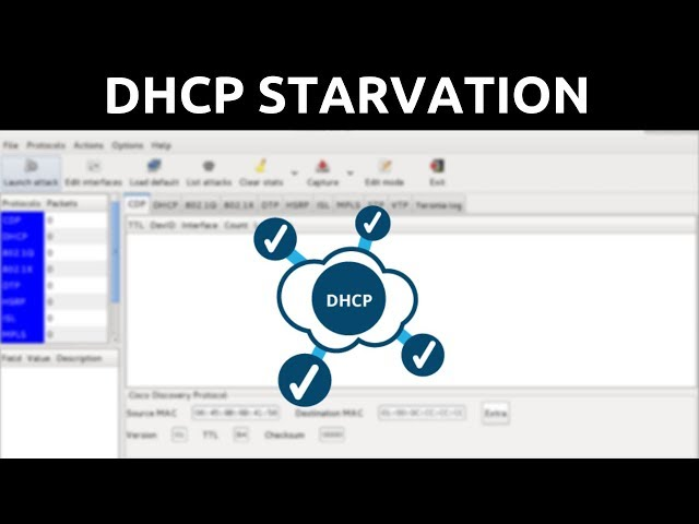 DHCP Starvation - Yersinia